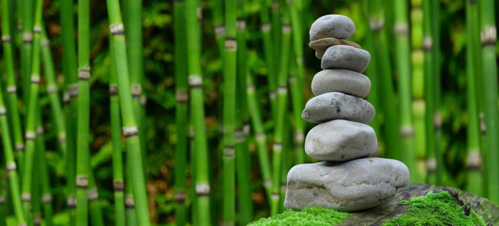 Benessere giardino zen